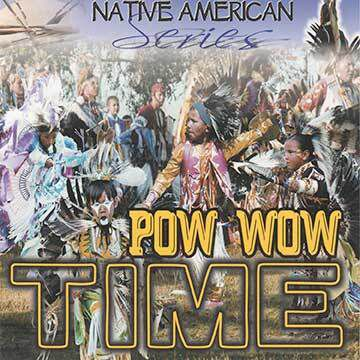 Native american pow wow time - album cover